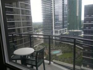 Ausblick aus 20 Stock
